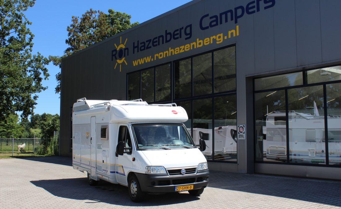 Garage Inrichting Gebruikt : Bürstner t garage dwarsbed ron hazenberg